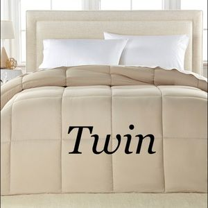 Royal Luxe Twin Down Alt Comforter